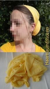 Kopftuch gegen die Sonne