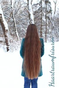 Länge im Schnee