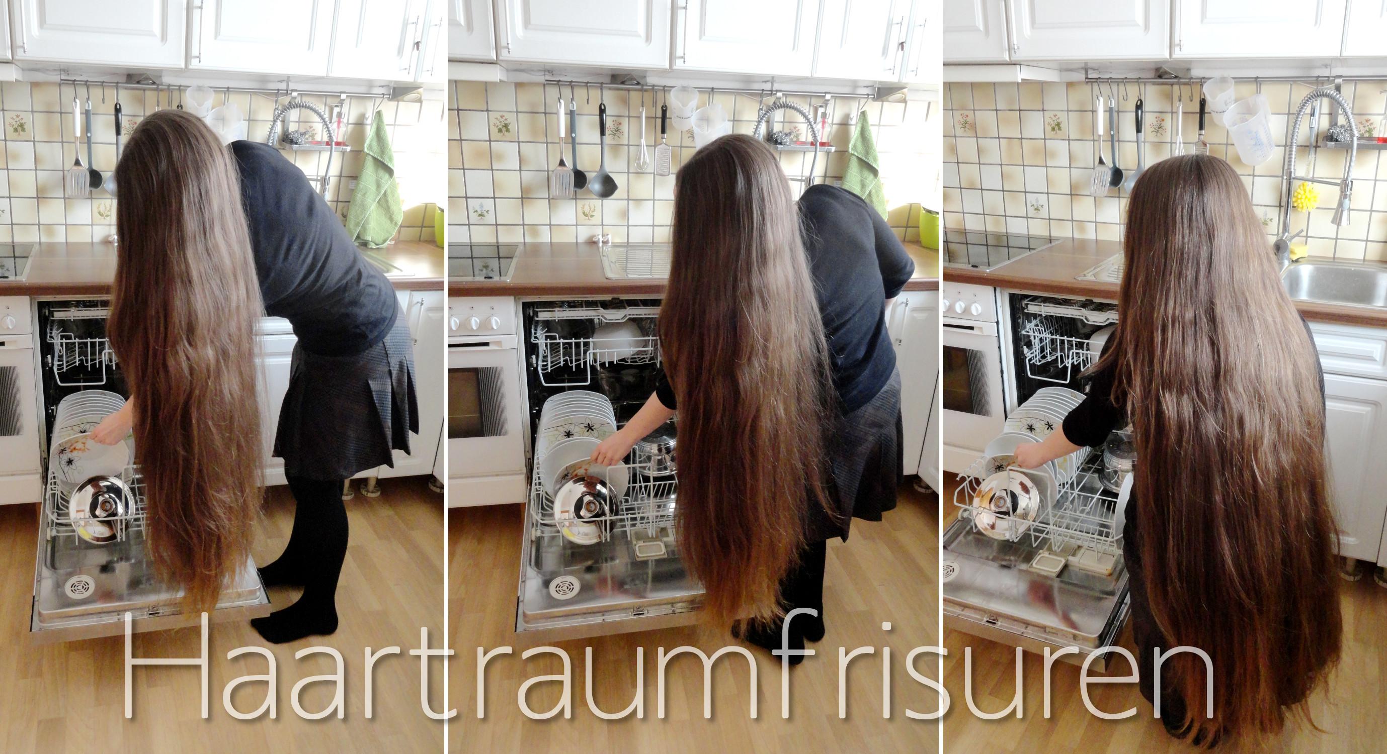 Lange Haare im Alltag  Haartraumfrisuren